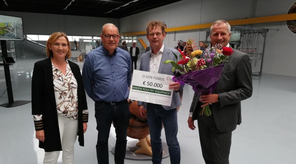 O-gen Fonds geeft lening voor insecten-kweekmachine