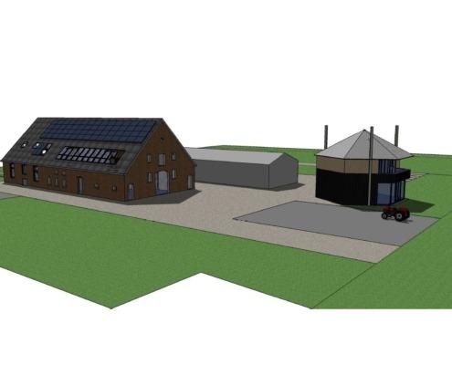 Duurzame warmteopslag monumentale boerderij