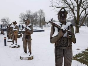 Winter op de Grebbelinie